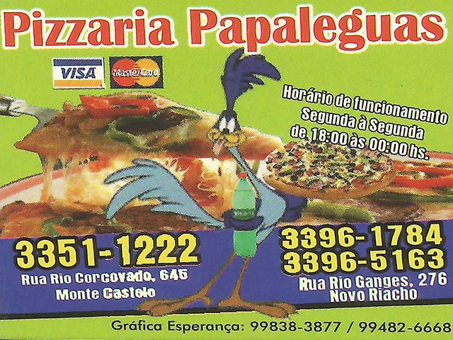 PIZZARIA PAPALÉGUAS