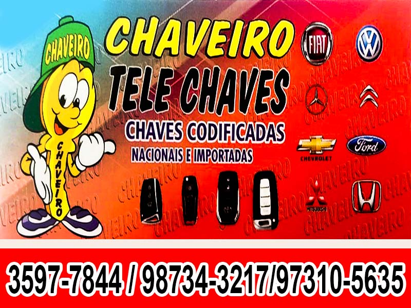 CHAVEIRO TELE CHAVES