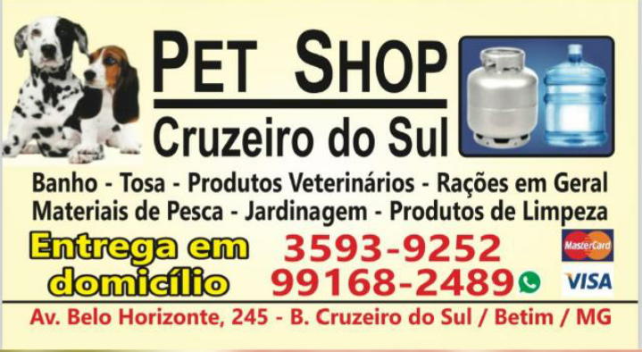 PET SHOP CRUZEIRO DO SUL